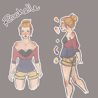 Rochelle by iam-holly