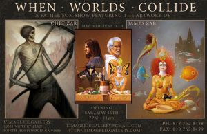 When Worlds Collide show by chetzar