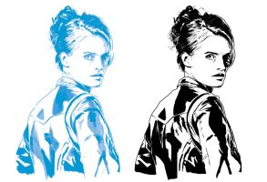 Stana Katic progression by JonathanWyke