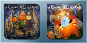 A Game of Dwarves Icons by Kalca