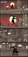 "Batman Comic: ""A Cat's Tale"" by GarrettByers"