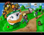 Super Mario World by cheddarpaladin