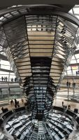 Berlin - Reichstag dome by PhilsPictures