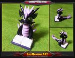 Booky Dragon by LuisMonterieArt