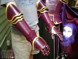 Hector Fire Emblem Gauntlets by gstqfashions