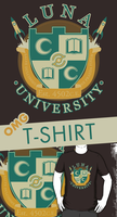 Doctor Who - LUNA UNIVERSITY Shirts (for Sale) by Girl-on-the-Moon