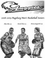 Augsburg Basketball by DirtyD41