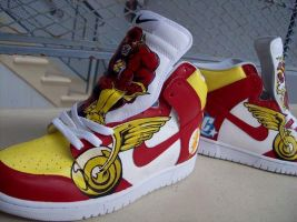 Flashton Dunks 2 by PattersonArt