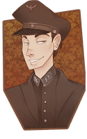 Character Portrait - Matthias by MarionetteDolly