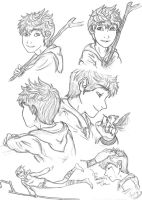 Jack Frost Sketches by Laven96