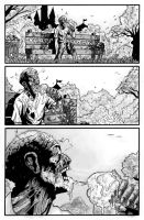 ZOMBIE COMIC P4 by thisismyboomstick