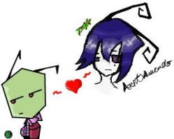 zim + tak on iscribble by zimismysexylover