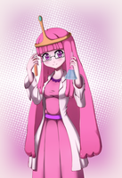 Lady of science by Razorkun