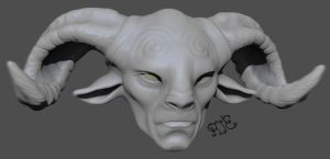 Pan's Labyrinth Fanart! W.I.P. (more to come) by Rafferty-Eggleston