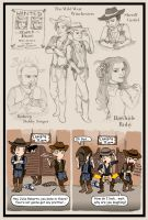 Wild West Winchesters by blackbirdrose