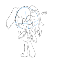 WiP - Cyoot little Cherry bunny by ChickenNuggetGalaxy