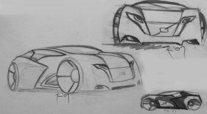 Volvo sketches by FuseEST