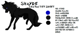 shayde character sheet by articwolfproductions