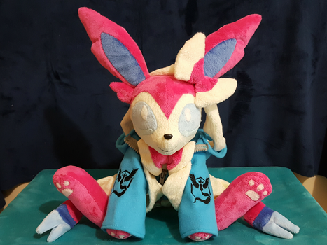 Pokemon Sylveon's Team Mystic Hoodie by Dawning-Love