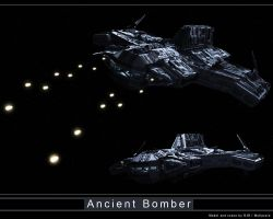 Ancient Bomber Contest Scene 2 by Mallacore