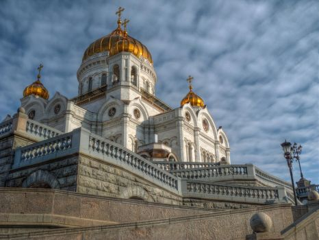 Cathedral of Christ the Saviour by ChaoticMind75