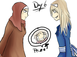 Hetalia 30 day challenge day 6 by Mizzy5897