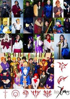 Fate Zero Cosplay Compilation by hainrihi