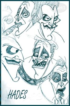 Hades Sketches by HArt1