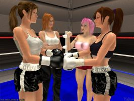 Gift for MCPBA- Anne vs Mary 1 by Tetsuo72