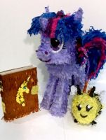Twilight Sparkle Pinata Accessories by C-quel