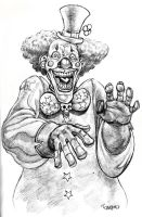 Evil Clown by Pancho-Villa