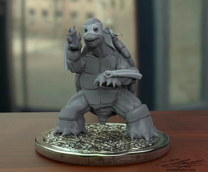 The First Turtle - Wip2 by onetruth