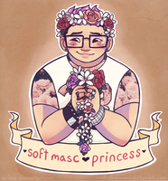 Soft-Masc Princess by Ai-Bee