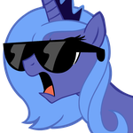 #Swag Luna by TeiThePony