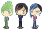 Group O'Chibis by Ikeylo