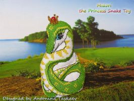 Midori - the Princess Snake toy - front by lovebiser