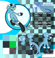 Newcomer: Maril the Dolphin by R0b0t8unny