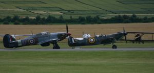 BBMF THE LAST AND MK2 SPIT by Sceptre63
