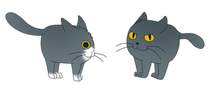 Pac-Cats by sam-speed