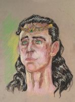 Loki Crowned at Last by AmberPalette