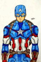 Captain America - Steve Rogers by RedWing99