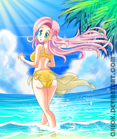MLP FlutterShy by Chiok