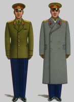 Soviet Army Uniforms 13 by Peterhoff3