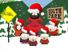 South Park Christmas by Mario162