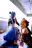 Vocaloid Cosplay : Kaito x Ren by yuegene