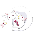 here, have a feminist kyubey by heidisartstuff