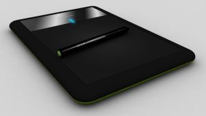 Wacom Bamboo Pen CTL-470 Render in 3DsMax by Unreal-Forever