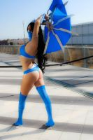 Kitana - Mortal Kombat 9 by VioletWitch666