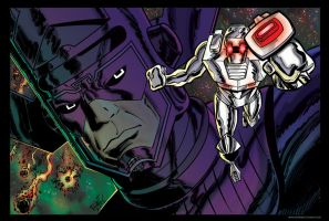 ROM: Herald of Galactus! by scottreed