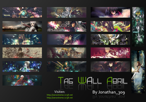 My Tag Wall Abril by Jonathan309